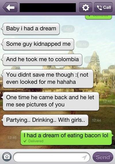 Bacon dream