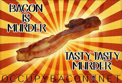 bacon is murder
