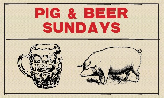 pig and beer sundays