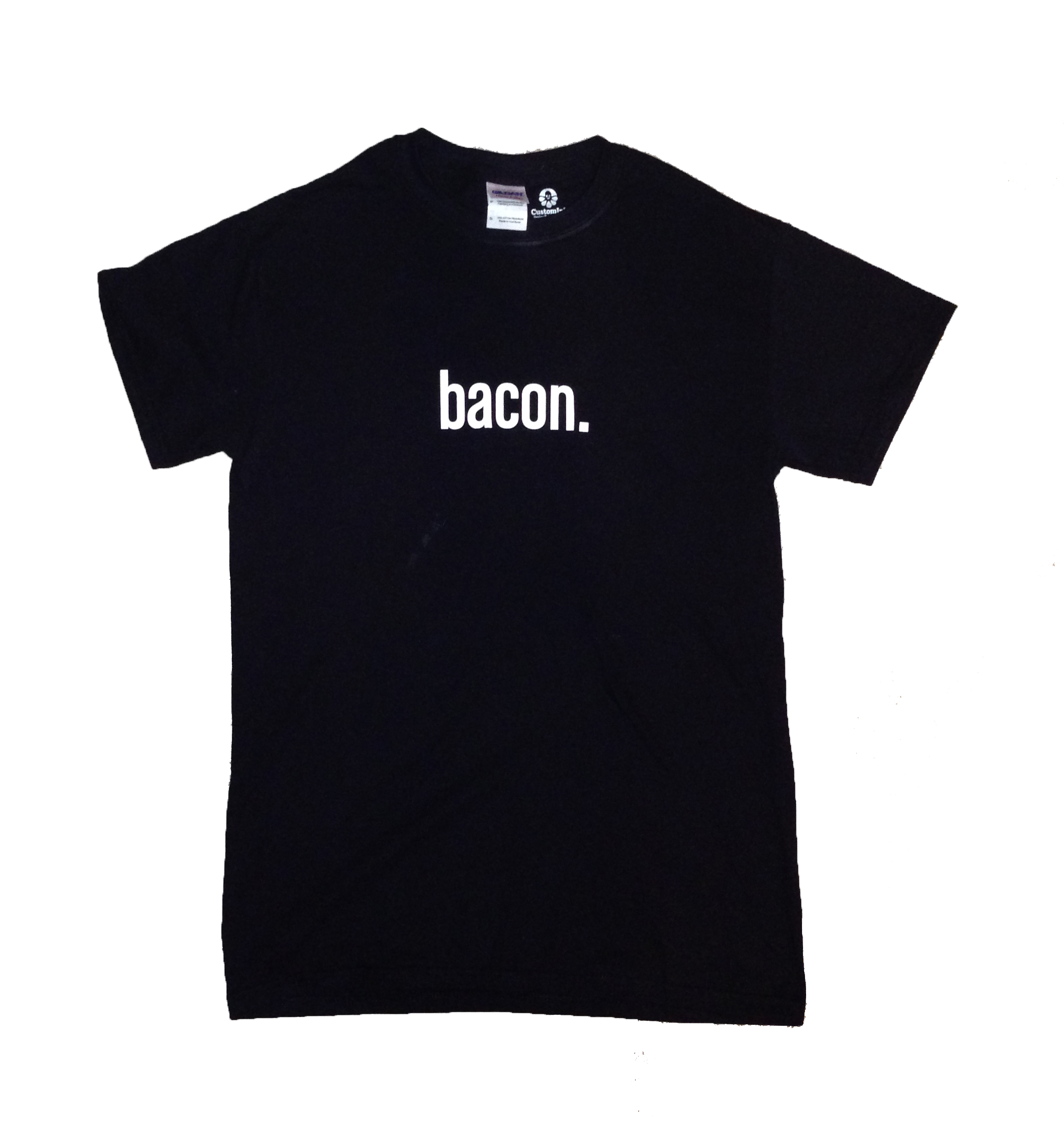Bacon TShirt White BG