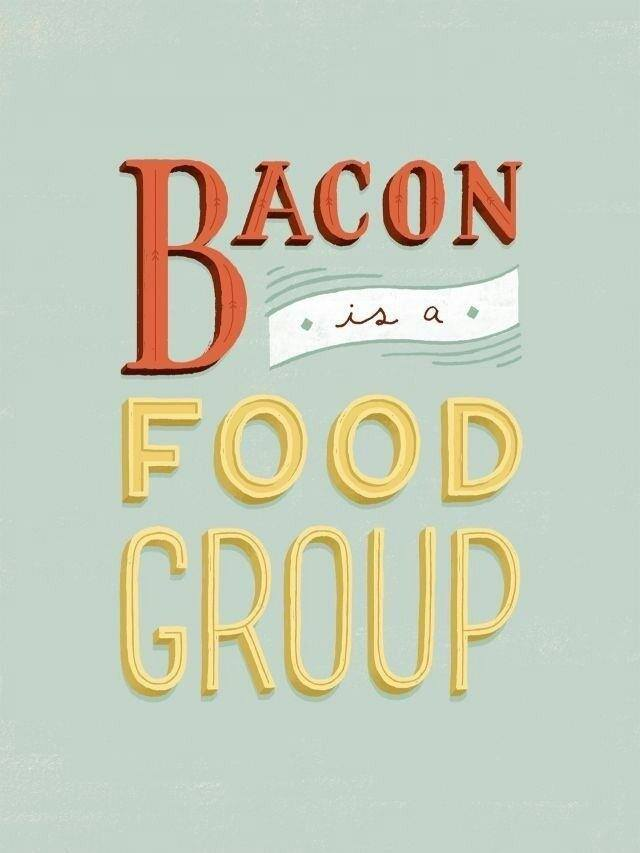 bacon is a food group