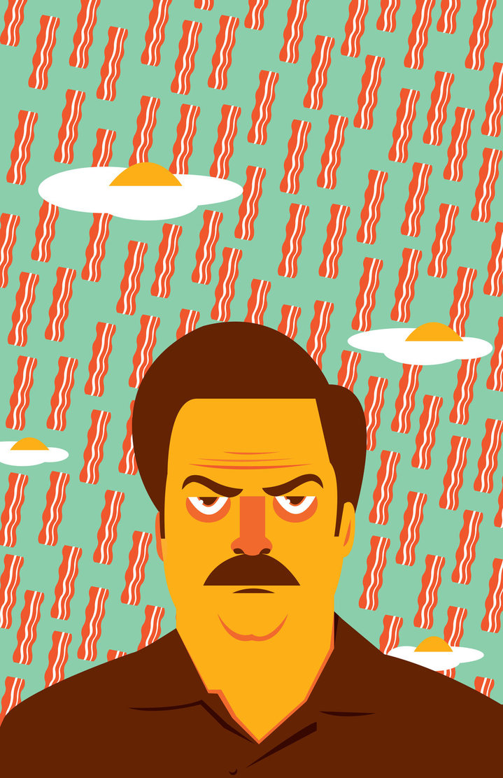 raining_breakfast___ron_swanson_poster_by_fantasysystem-d5o7lwf