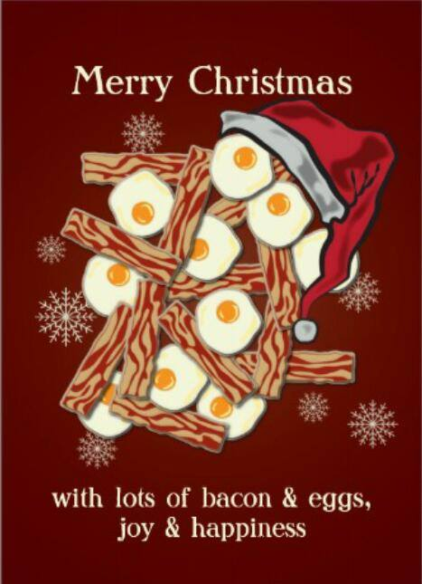 Merry Bacon Christmas