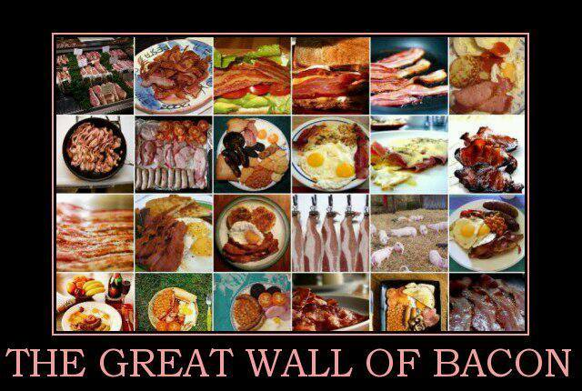 great wall of bacon