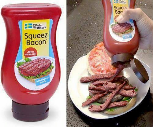 Squeeze Bacon