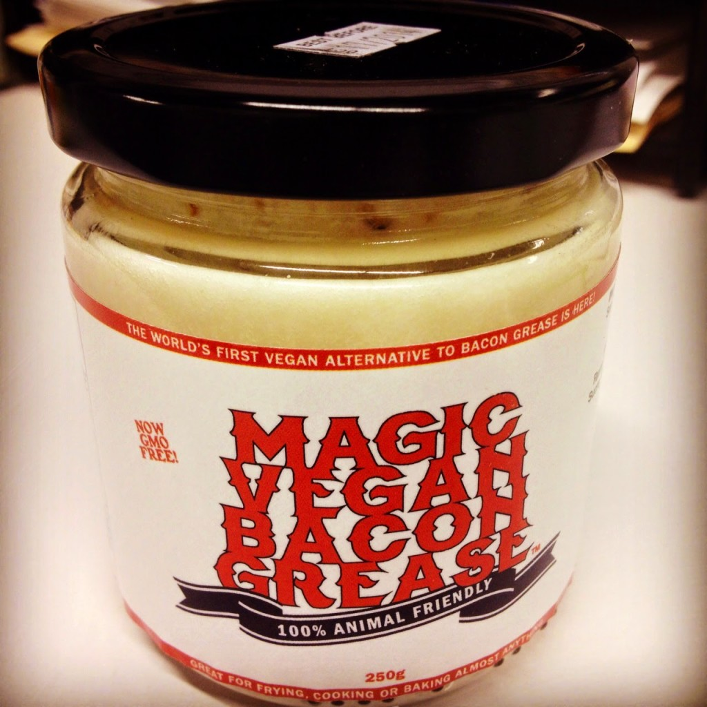 magic veggie bacon grease