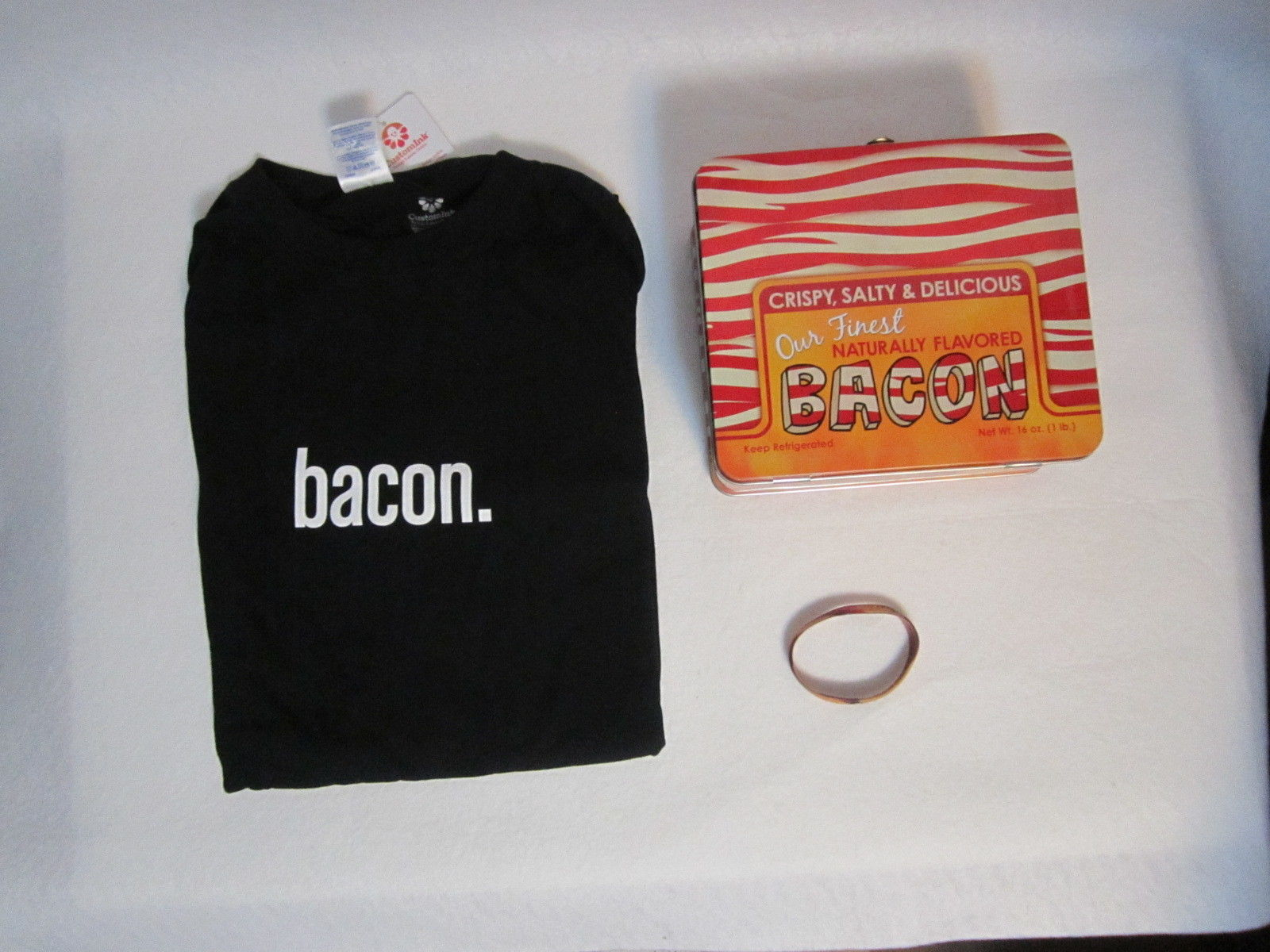Bacon Shirt Lunchbox Wristband